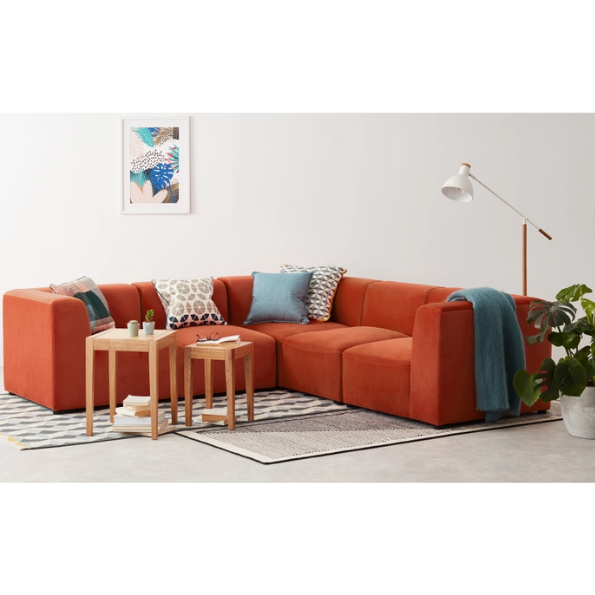 Juno 5 Seater Corner Sofa from Made.com