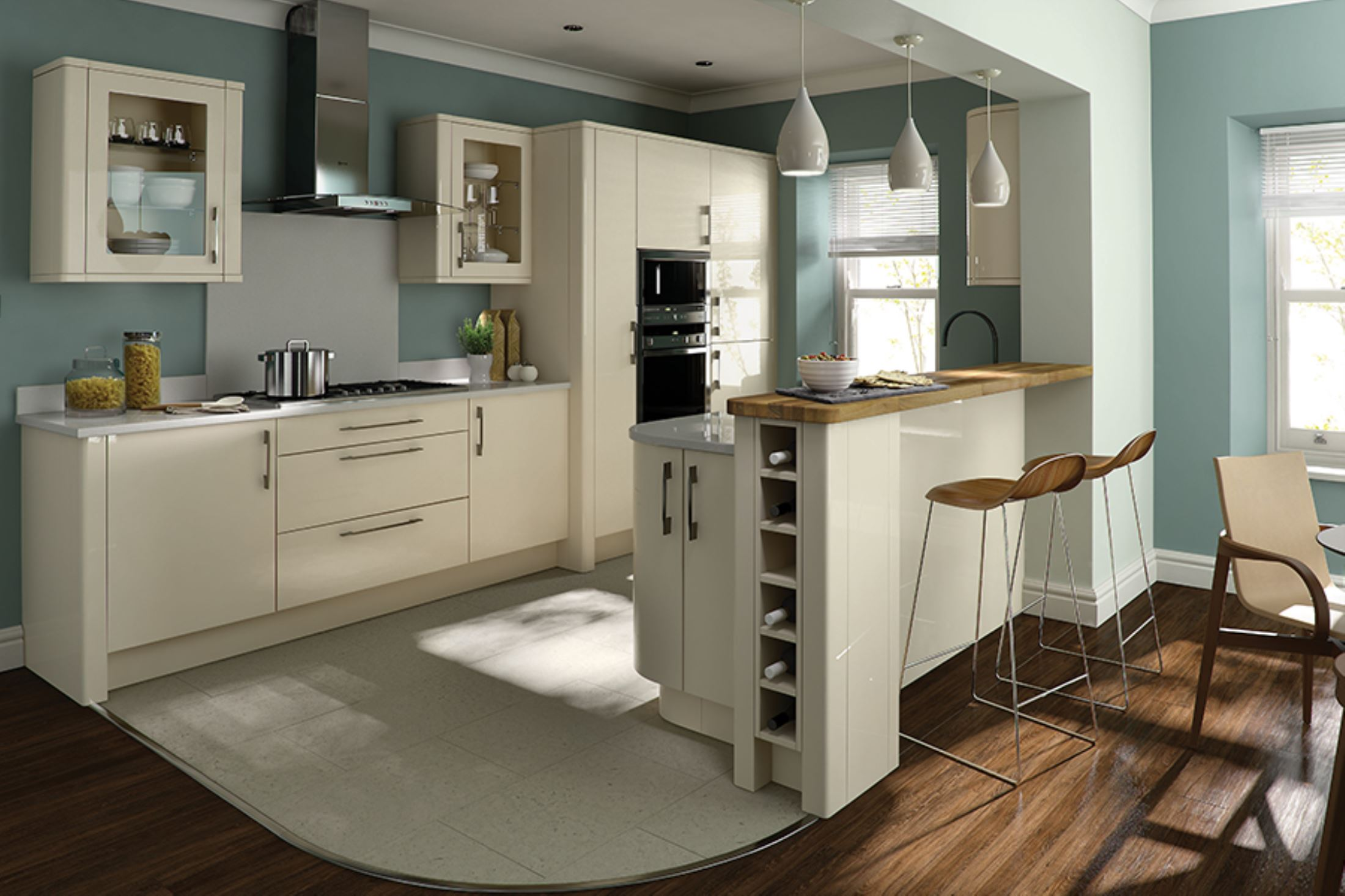 roundel example kitchen the cedar wortley