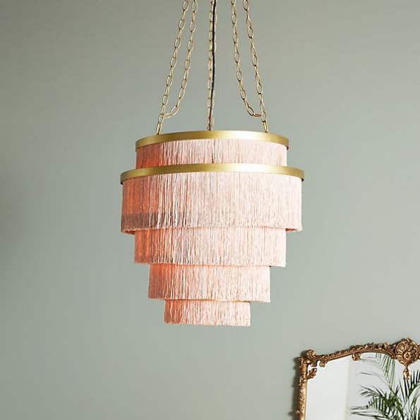 Aloha Fringe Chandelier from Anthropolgie
