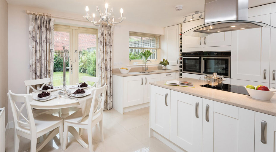 lilac cherry kitchen wortley